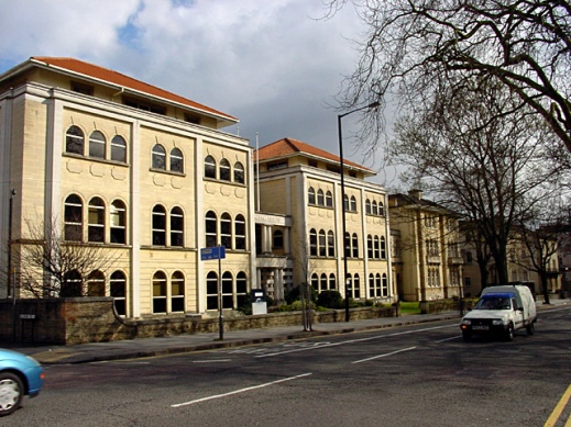 BBC Bristol TV Studios on Whiteladies Road