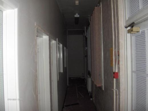 Disused corridor in Barrow Gurney