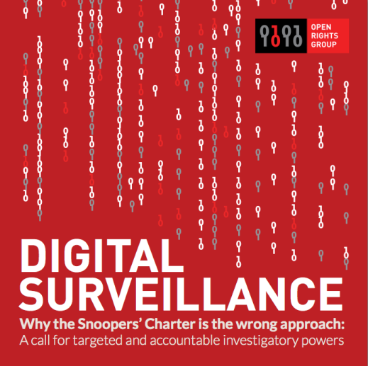 Digital Surveillance: Why the Snooper's Charter is the wrong approach.